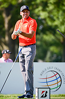 Sergio Garcia (ESP) on the 3rd tee during the first round of the WGC Bridgestone Invitational, Firestone country club, Akron, Ohio, USA. 03/08/2017.<br /> Picture Ken Murray / Golffile.ie<br /> <br /> All photo usage must carry mandatory copyright credit (&copy; Golffile | Ken Murray)