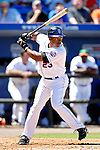 17 March 2007: New York Mets infielder Julio Franco in action against the Washington Nationals on St. Patrick's Day at Tradition Field in Port St. Lucie, Florida...Mandatory Photo Credit: Ed Wolfstein Photo