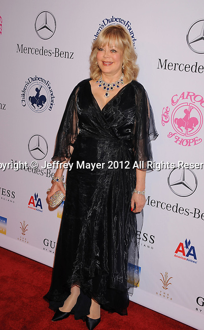 BEVERLY HILLS, CA - OCTOBER 20: Candy Spelling arrives at the 26th Anniversary Carousel Of Hope Ball presented by Mercedes-Benz at The Beverly Hilton Hotel on October 20, 2012 in Beverly Hills, California.