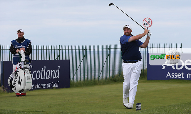 Shane Lowry (IRL) during Round Three of the 2015 Aberdeen Asset Management Scottish Open, played at Gullane Golf Club, Gullane, East Lothian, Scotland. /11/07/2015/. Picture: Golffile | David Lloyd<br /> <br /> All photos usage must carry mandatory copyright credit (&copy; Golffile | David Lloyd)