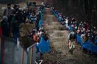 coming down the (new) dirt jump section<br /> <br /> GP Sven Nys (BEL) 2019<br /> DVV Trofee<br /> ©kramon