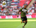 Juventus Douglas Costa in action during the pre season match at Wembley Stadium, London. Picture date 5th August 2017. Picture credit should read: David Klein/Sportimage
