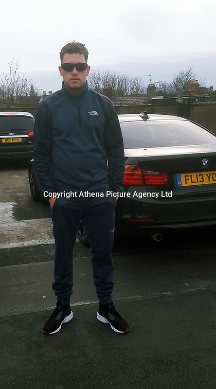 """Pictured: Kyle McDonagh<br /> Re: A burglar was caught after his fingerprints were found on a biscuit tin that had been dumped in a garden.<br /> He then went on the run and posted pictures and messages to police on his Facebook page.<br /> The tin was found in the garden of a house that had been burgled in the Splott area of Cardiff.<br /> A laptop and a bike were also taken in the burglary at the house on Gwendoline Street in April.<br /> Kyle McDonagh's fingerprints were identified following forensic tests, and a search for him was launched.<br /> The 28-year-old evaded officers for a number of weeks, and even tried to goad police with photographs that he posted using social media.<br /> It is understood he took a picture next to a police van and posted it.<br /> And he also wrote: """"Another chase at least it's keeping me fit in suppose."""""""