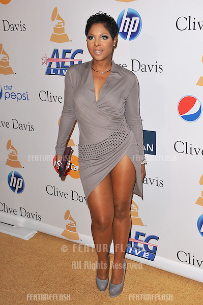 Toni Braxton at the 2011 Clive Davis pre-Grammy party at the Beverly Hilton Hotel..February 12, 2011  Beverly Hills, CA.Picture: Paul Smith / Featureflash