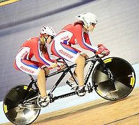 Picture by Simon Wilkinson/SWpix.com - 04/03/2017 - Cycling 2017 UCI Para-Cycling Track World Championships, Velosports Centre, Los Angeles USA - RUSSIA Marila SOLOMATINA and Irina PERFILOVA