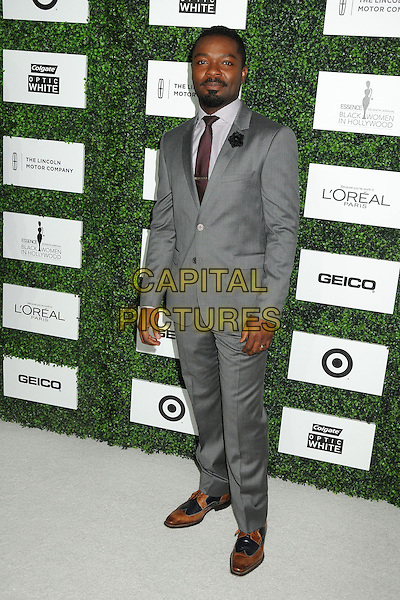 27 February 2014 - Beverly Hills, California - David Oyelowo. 7th Annual ESSENCE &quot;Black Women in Hollywood&quot; Luncheon held at the Beverly Hills Hotel. <br /> CAP/ADM/BP<br /> &copy;Byron Purvis/AdMedia/Capital Pictures