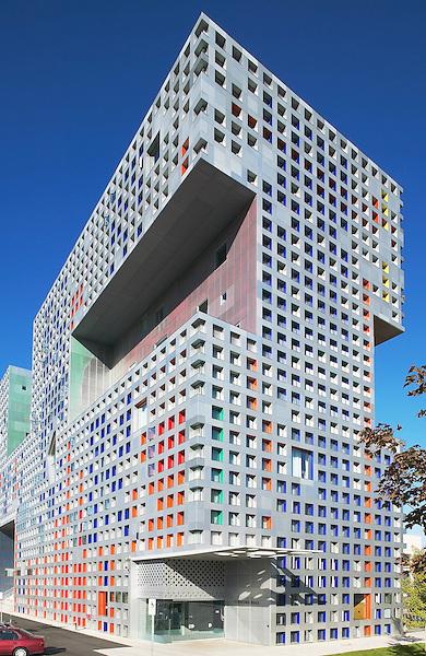 MIT Simmons Hall, Cambridge, MA