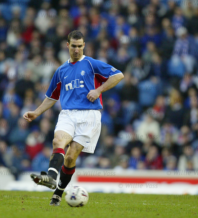 Tony Vidmar, Rangers. February 2002