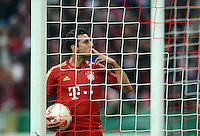 FUSSBALL  DFB POKAL       SAISON 2012/2013 FC Bayern Muenchen - 1 FC Kaiserslautern  31.10.2012 Jubel nach dem TOR zum 3:0 durch Claudio Pizarro (FC Bayern Muenchen)