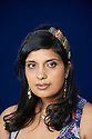 Nikita Lalwani Novelist  and writer of The Village  at The Edinburgh International Book Festival   . Credit Geraint Lewis