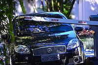 RIO DE JANEIRO, RJ, 07 DE JULHO DE 2013 -ALTA HOSPITALAR DE NEYMAR-Neymar recebe alta após cirurgia para retirada das amígdalas na clinica São Vicente na Gávea no Rio de Janeiro neste domingo, 07.FOTO:MARCELO FONSECA/BRAZIL PHOTO PRESS