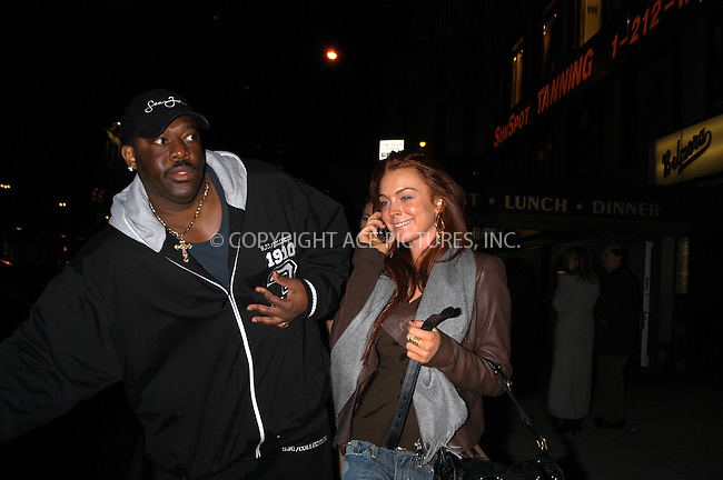 New York, December 4, 2004: Lindsay Lohan went to SunSpot tanning salon on 57 Street at Lexington Avenue from Polar tanning salon on Lexington Avenue at 86 Street. Lohan did not spend much time (not more than 10 minutes) inside this salon. Please byline: Boldeskul/Bocklet/ ACE PICTURES.   .. *** ***  ..Ace Pictures, Inc  ** ..Alecsey Boldeskul (646) 267-6913 **..Philip Vaughan (646) 769-0430 **..e-mail: info@acepixs.com..web: http://www.acepixs.com