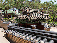 Beim Pavillon Jeongghwanheon im Palast Deoksugung in Seoul, S&uuml;dkorea, Asien<br /> at pavilion Jeonghwanheon in palace Deoksugung, Seoul, South Korea, Asia