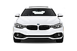 Car photography straight front view of a 2018 BMW 4 Series Gran Coupe 430i 5 Door Hatchback