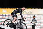 Chris Froome (GBR) Team Sky on stage before the Tour de France Saitama Crit&eacute;rium 2017 held around the streets os Saitama, Japan. 3rd November 2017.<br /> Picture: ASO/Pauline Ballet | Cyclefile<br /> <br /> <br /> All photos usage must carry mandatory copyright credit (&copy; Cyclefile | ASO/Pauline Ballet)