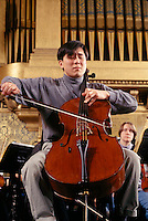 Cello concerto, Woolsey Hall, Yale University, New Haven, CT