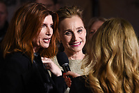 """Sharon Horgan and Kristin Scott Thomas<br /> arriving for the """"Military Wives"""" premiere at the Cineworld Leicester Square, London.<br /> <br /> ©Ash Knotek  D3557 24/02/2020"""