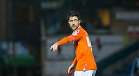 Alan Sheehan of Luton Town during the Sky Bet League 2 match between Wycombe Wanderers and Luton Town at Adams Park, High Wycombe, England on 6 February 2016. Photo by Andy Rowland.