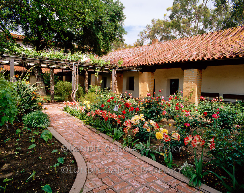 Mission San Luis Obispo de Tolosa, the fifth mission founded on California mission chain.