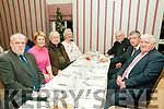 Retirement Party : Pictured at the retirement party of Maurice O'Mahony, former principal of Coolard NS for 43 years at Behan's Horseshoe Bar, Listowel on Friday night last were Tim O'Connor, Margaret Kissane, Fr. John Lawlor, Sarah Buckley, Fr. Hegarty, Maurice O'Mahony & Ned Bulger.
