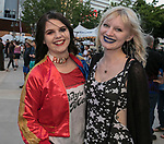 Rachel and Kallie during the Epic Crawl held in downtown Reno on Saturday night, June 3, 2017.