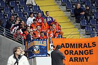 Fan der Amsterdam Admirals beim German Bowl<br /> German Bowl XXXI Berlin Adler vs. Kiel Baltic Hurricanes, Commerzbank Arena *** Local Caption *** Foto ist honorarpflichtig! zzgl. gesetzl. MwSt. Auf Anfrage in hoeherer Qualitaet/Aufloesung. Belegexemplar an: Marc Schueler, Alte Weinstrasse 1, 61352 Bad Homburg, Tel. +49 (0) 151 11 65 49 88, www.gameday-mediaservices.de. Email: marc.schueler@gameday-mediaservices.de, Bankverbindung: Volksbank Bergstrasse, Kto.: 151297, BLZ: 50960101