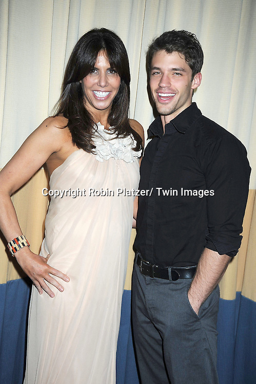 Cindy Barshop,owner of Completely Bare Spas and The Real Housewives of New York City  and David Gregory attending the 26th Annual Starlight Children's Foundation Gala on March 16, 2011 at The Marriott Marquis Hotel in New York City.