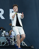 Conor Maynard performs during The New Look Wireless Music Festival at Finsbury Park, London, England on Sunday 05 July 2015. Photo by Andy Rowland.
