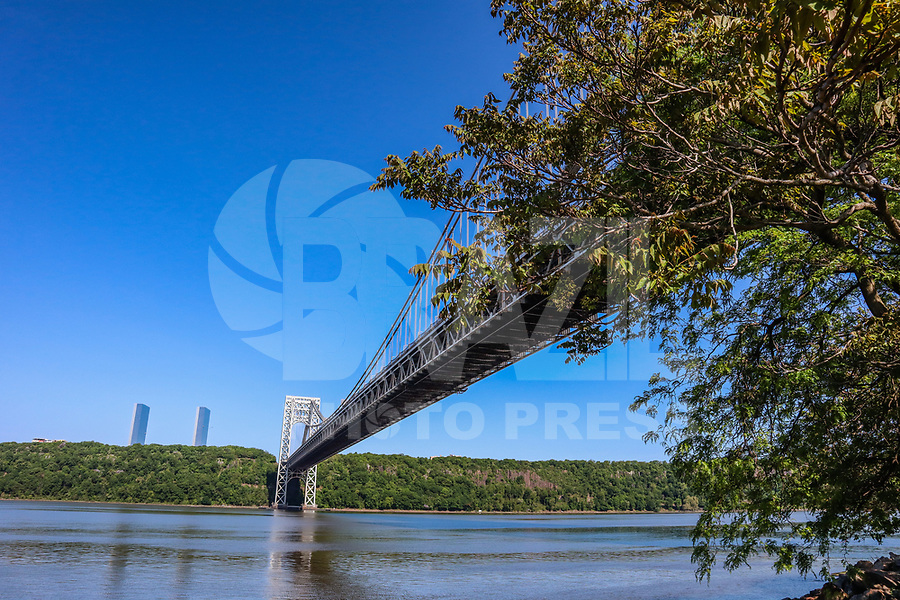 NOVA YORK, EUA, 22.05.2019 - TURISMO-EUA - Vista da Ponte George Washington em Manhattan na cidade de Nova York nesta quarta-feira, 22. (Foto: William Volcov/Brazil Photo Press)