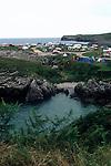 Campsite &quot;Entre Playas&quot; at the Atlantic Coast near Llanes<br /> <br /> Camping &quot;Entre Playas&quot; en las orillas del Mar cerca de Llanes<br /> <br /> Zeltplatz &quot;Entre Playas&quot; an der Atlantikk&uuml;ste in der N&auml;he von Llanes<br /> <br /> 2657 x 1772 px<br /> Original: 35 mm slide transparency