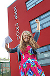 A Level Results 2012.Karlie Williams.Cross Keys College.16.08.12.©Steve Pope