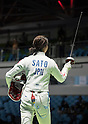 Nozomi Sato (JPN), AUGUST 6, 2016 - Fencing : Women's Epee Individual 1st round at Carioca Arena 3 during the Rio 2016 Olympic Games in Rio de Janeiro, Brazil. (Photo by Enrico Calderoni/AFLO SPORT)