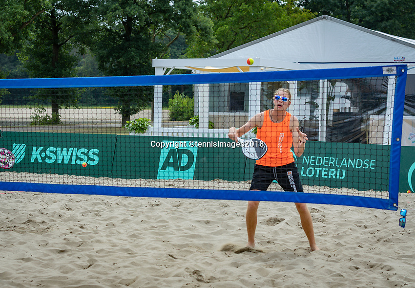 Den Bosch, Netherlands, 16 June, 2018, Tennis, Libema Open, beachtennis<br /> Photo: Henk Koster/tennisimages.com