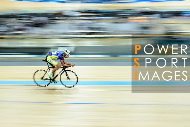Wong Cheuk Hei of team CMS during the Indiviual Pursuit Open Qualifying (4KM) Track Cycling Race 2016-17 Series 3 at the Hong Kong Velodrome on February 4, 2017 in Hong Kong, China. Photo by Marcio Rodrigo Machado / Power Sport Images