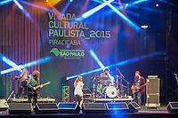 PIRACICABA,SP 23.05.2015 - VIRADA-PAULISTA - A Banda Mais Bonita da Cidade durante Virada Cultural Paulista na cidade de Piracicaba no interior de São Paulo neste sabado, 23. (Foto: Mauricio Bento / Brazil Photo Press)