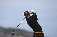 Jake Hapgood from Wales on the 10th tee during Round 2 Singles of the Men's Home Internationals 2018 at Conwy Golf Club, Conwy, Wales on Thursday 13th September 2018.<br /> Picture: Thos Caffrey / Golffile<br /> <br /> All photo usage must carry mandatory copyright credit (&copy; Golffile | Thos Caffrey)