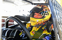 Apr 17, 2009; Avondale, AZ, USA; NASCAR Sprint Cup Series driver Clint Bowyer during practice for the Subway Fresh Fit 500 at Phoenix International Raceway. Mandatory Credit: Mark J. Rebilas-