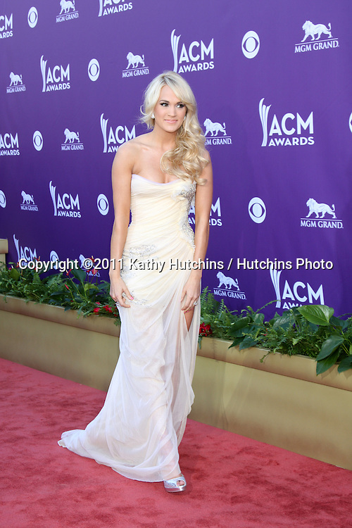 LAS VEGAS - APR 1:  Carrie Underwood arrives at the 2012 Academy of Country Music Awards at MGM Grand Garden Arena on April 1, 2010 in Las Vegas, NV.