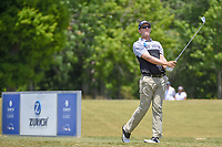 Seamus Power (IRL) watches his tee shot on 17 during Round 3 of the Zurich Classic of New Orl, TPC Louisiana, Avondale, Louisiana, USA. 4/28/2018.<br /> Picture: Golffile | Ken Murray<br /> <br /> <br /> All photo usage must carry mandatory copyright credit (&copy; Golffile | Ken Murray)