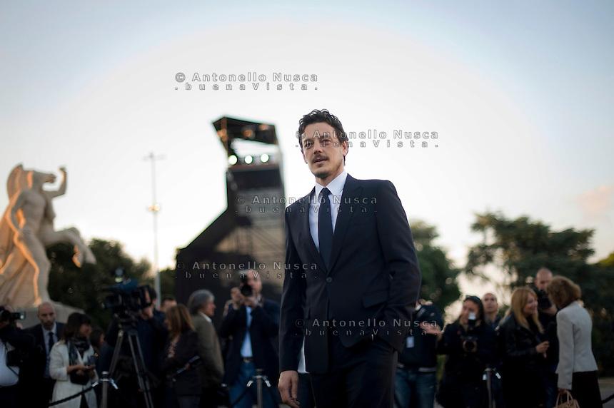 Roma, 5 Giugno, 2013. L'attore Giorgio Lupano al 'One Night Only' Roma organizzato da Giorgio Armani al Palazzo della Civilta Italiana.