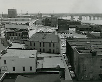 1964 May 11..Redevelopment.Downtown South (R-9)..View looking East toward Berkley Bridge..HAYCOX - R. V. Fishbeck.NEG# 64-509-23.NRHA# 3277..