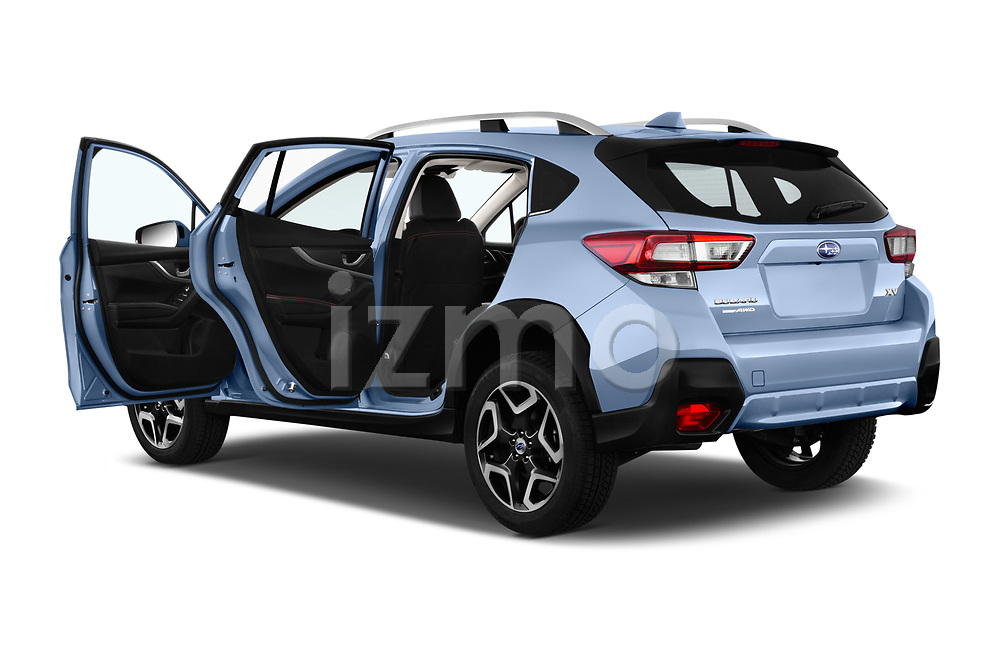 Car images close up view of a 2018 Subaru XV Premium 5 Door SUV doors