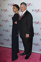 """Victoria Beckam and William Lauder attend The Breast Cancer Research Foundation """"Super Nova"""" Hot Pink Party on May 12, 2017 at the Park Avenue Armory in New York City."""