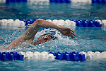 GREENSBORO, NC - MARCH 17: Tim Samuelson, of Missouri S&T, competes in the 1650 mens freestyle during the Division II Men's and Women's Swimming & Diving Championship held at the Greensboro Aquatic Center on March 17, 2018 in Greensboro, North Carolina. (Photo by Mike Comer/NCAA Photos/NCAA Photos via Getty Images)