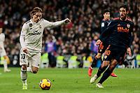 Real Madrid's Luka Modric during La Liga match between Real Madrid and Valencia CF at Santiago Bernabeu Stadium in Madrid, Spain. December 01, 2018. (ALTERPHOTOS/A. Perez Meca) /NortePhoto NORTEPHOTOMEXICO