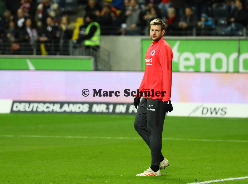 Marco Russ (Eintracht Frankfurt) - 22.12.2018: Eintracht Frankfurt vs. FC Bayern München, Commerzbank Arena, DISCLAIMER: DFL regulations prohibit any use of photographs as image sequences and/or quasi-video.