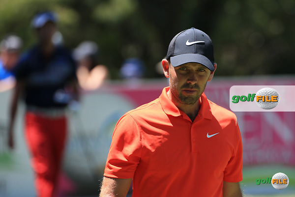 Only he can beat himself: Charl Schwartzel (RSA)  during Round Three of the 2016 Tshwane Open, played at the Pretoria Country Club, Waterkloof, Pretoria, South Africa.  13/02/2016. Picture: Golffile | David Lloyd<br /> <br /> All photos usage must carry mandatory copyright credit (&copy; Golffile | David Lloyd)