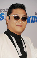 LOS ANGELES, CA - DECEMBER 03: PSY attends the KIIS FM's Jingle Ball 2012 held at Nokia Theatre LA Live on December 3, 2012 in Los Angeles, California.PAP1212JP341