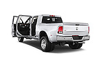 Car images close up view of a 2015 Ram 3500 Laramie Mega Cab 4 Door Van doors