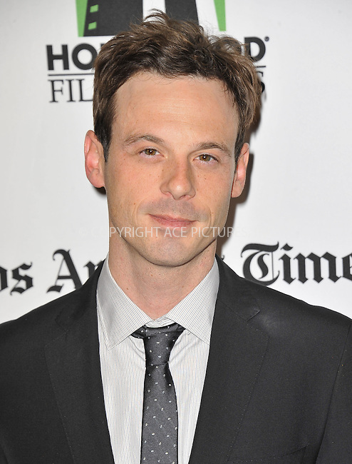 WWW.ACEPIXS.COM....October 22 2012, LA....Scoot McNairy at the 16th Annual Hollywood Film Awards Gala Presented By The Los Angeles Times at The Beverly Hilton Hotel on October 22, 2012 in Beverly Hills, California.......By Line: Peter West/ACE Pictures......ACE Pictures, Inc...tel: 646 769 0430..Email: info@acepixs.com..www.acepixs.com
